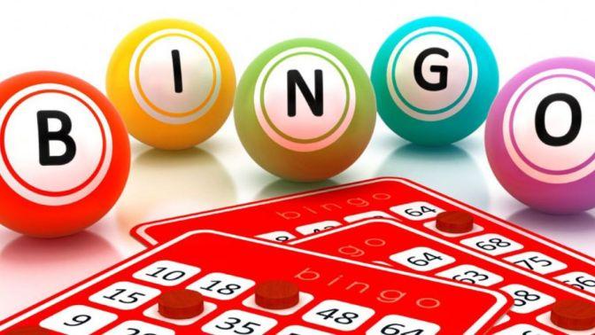Bingo Night! Saturday 10th November 2018