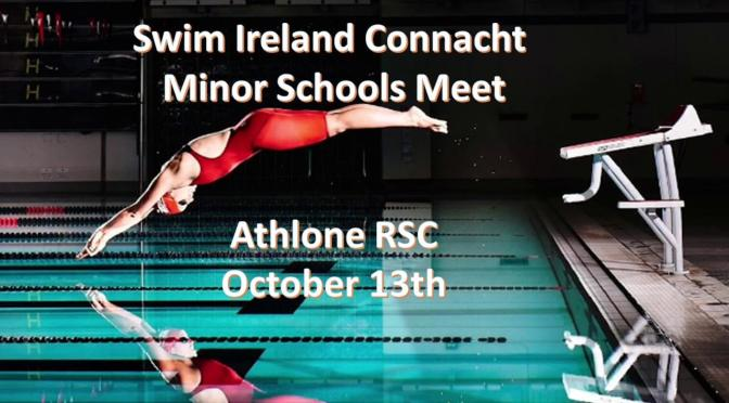 Swim Ireland Connacht Minor Schools Meet
