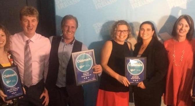 """Bluefin SC Awarded Swim Ireland's """"Clubmark"""""""
